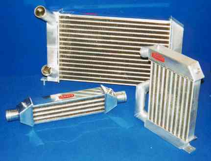 Air to air Intercoolers